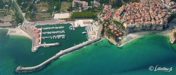 Tropea, veduta aerea - foto Libertino