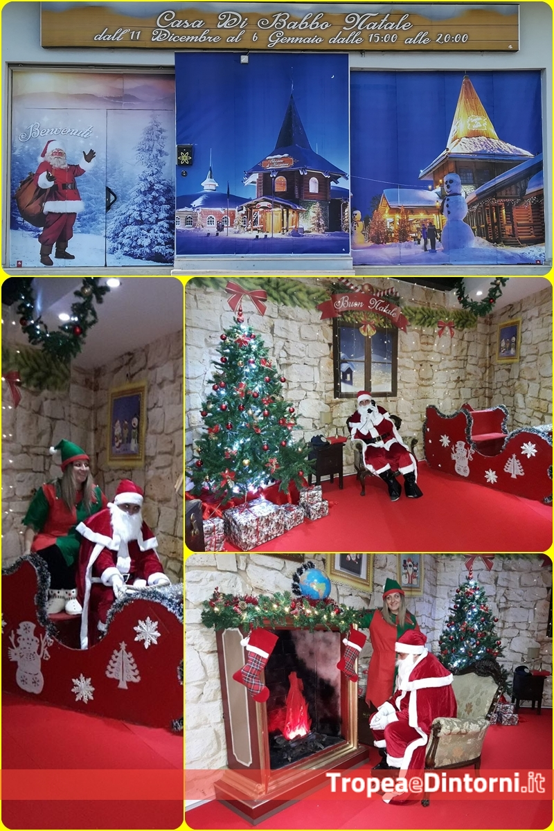La Casa Di Babbo Natale Immagini.Ufficializza L Apertura Della Casa Di Babbo Natale Tropeaedintorni It