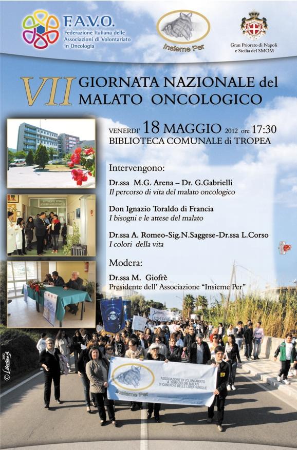VII Giornata Nazionale del Malato Oncologico