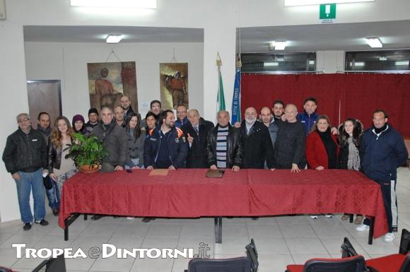 Tropea: Gruppo di protezione Civile - foto Libertino
