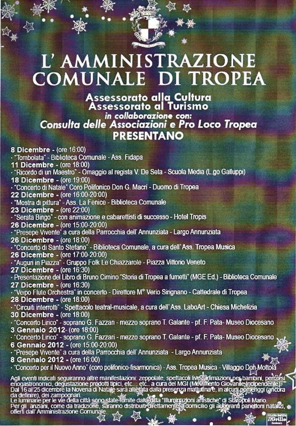 Natale a Tropea
