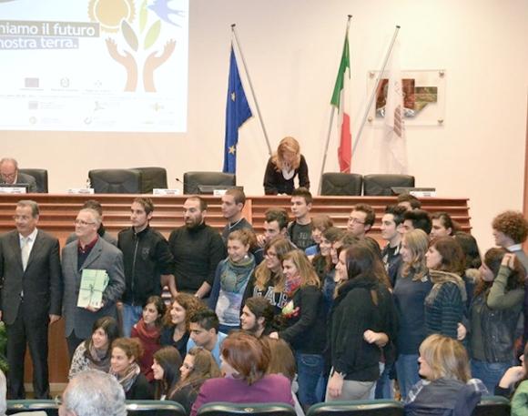 Conferenza regionale sull'Educazione all'ambiente, svoltasi a Cosenza