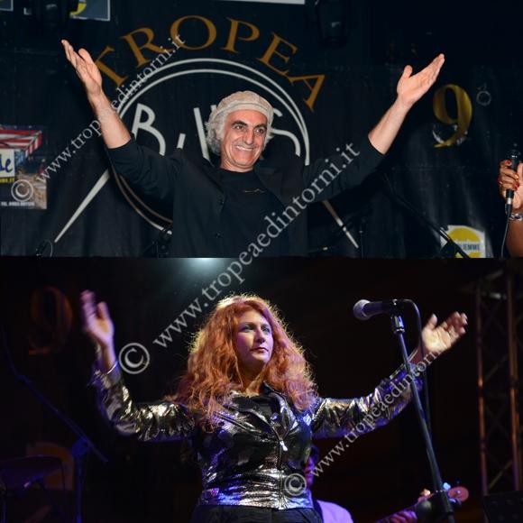 Vince Vallicelli, Irene Robbins - foto Libertino