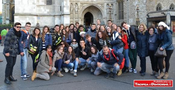 Gli studenti dei Licei tropeani  a Londra per tre settimane grazie al PON – FSE