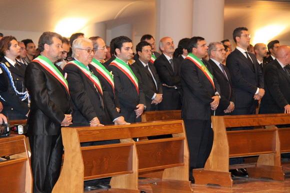 Zamrbone, sindaci e presidente a Paola