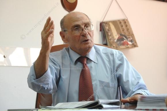 L'ex Sindaco di Tropea Gaetano Vallone - foto Libertino
