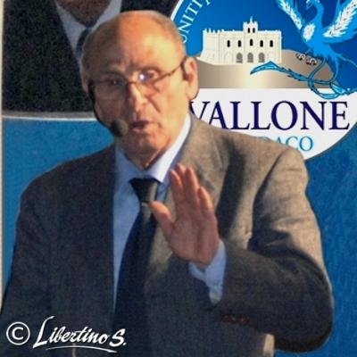 Il Sindaco Gaetano Vallone - foto Libertino
