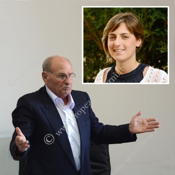 Il sindaco di Tropea Gaetano Vallone e la deputata M5S Dalila Nesci  - foto Libertino