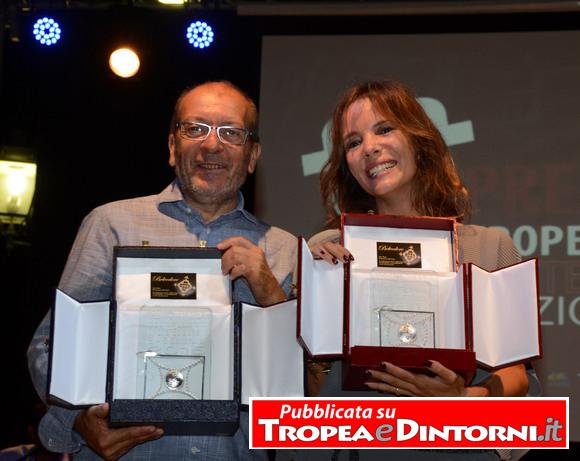 Dario Vergassola, Simona Staraco - foto Libertino