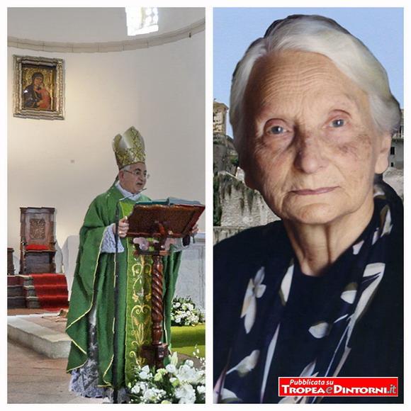 Mons. Luigi Renzo, la Serva di Dio Irma Scrugli - foto Libertino