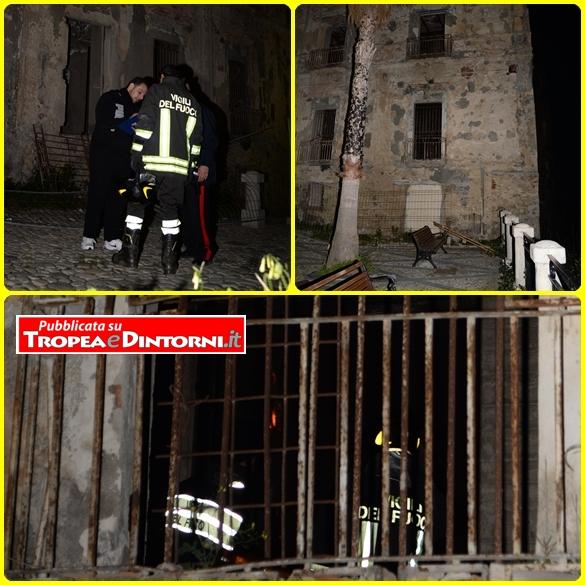 Polizia Urbane, Carabinieri e Vigili del Fuoco in azione - foto Libertino