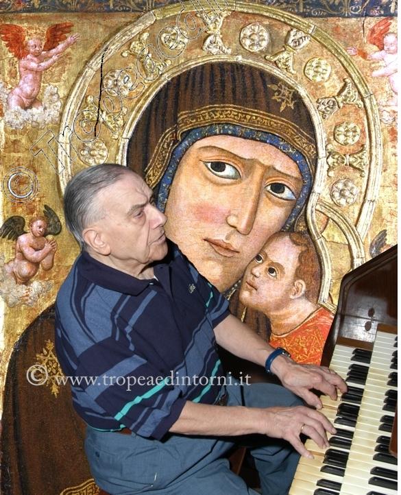 Il Maestro di Cappella Vincenzo Fazzari foto Libertino
