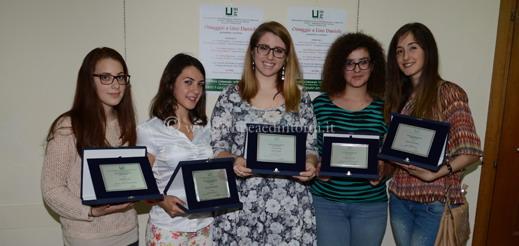 I vincitori del Premio di Scrittura Giovani  - foto Libertino