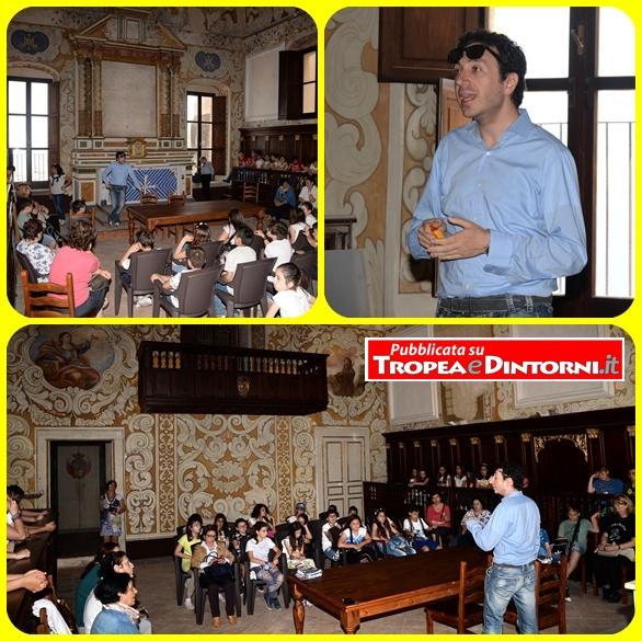 La visita di ieri da parte delle tre classi della V elementare all'interno della Cappella dei Nobili - foto Stroe