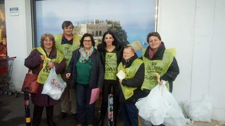 I volontari del Banco Alimentare