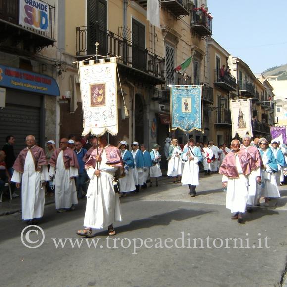 La Congrega del Carmine di Tropea a Monreale - foto Taccone