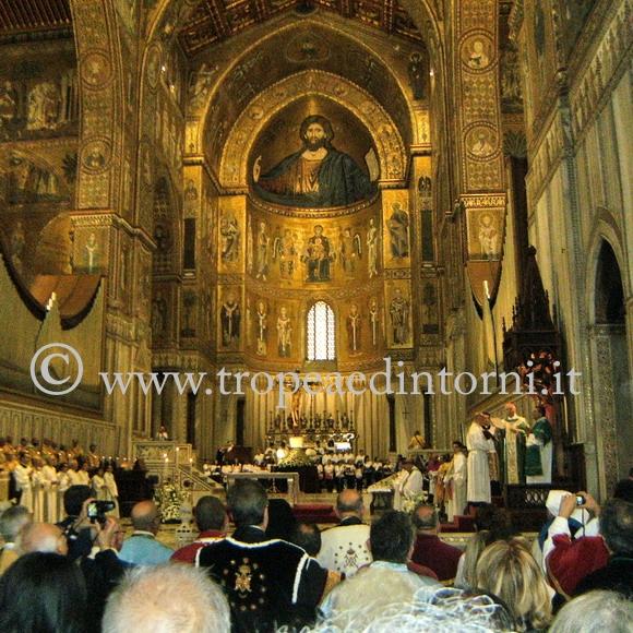 XXI Cammino di fraternità nella Cattedrale di Monreale - foto Taccone