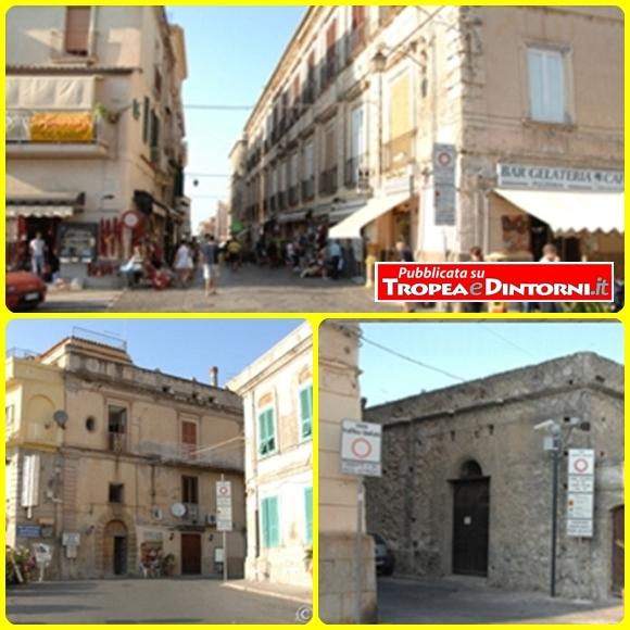 Varchi Z.T.L. del centro storico di Tropea - foto Libertino