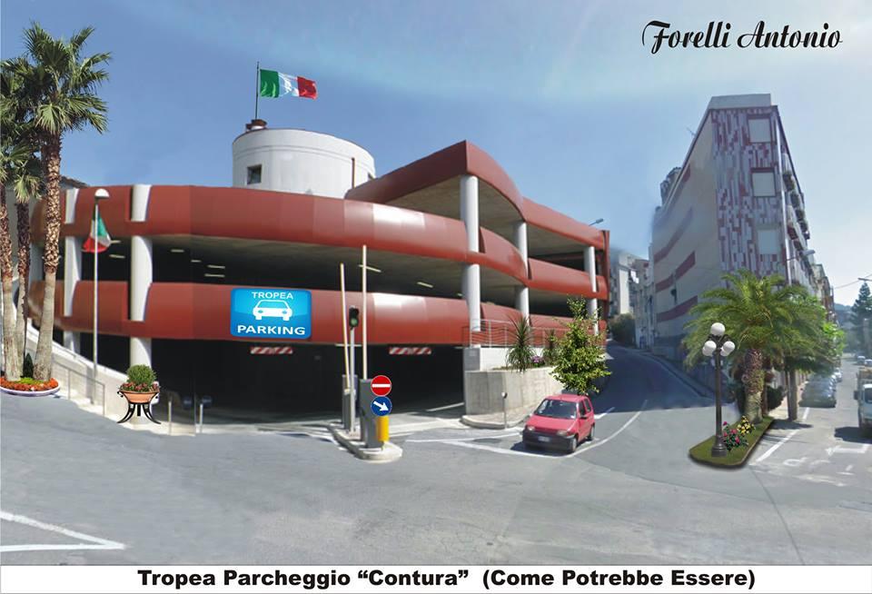 Il parcheggio nel progetto di Antonio Forelli