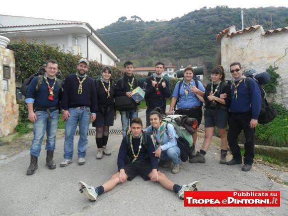 """I giovani del gruppo Harvest  """"Tropea I"""" impegnati socialmente"""