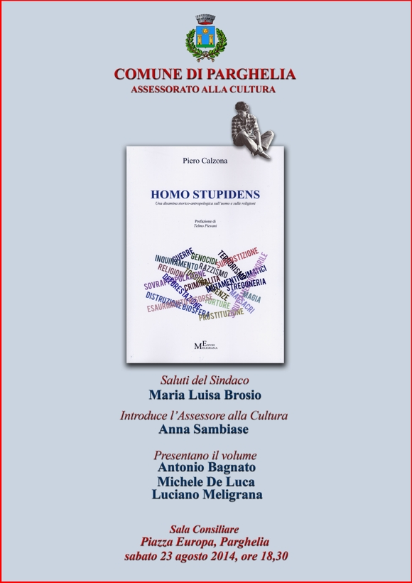 locandina libro Piero Calzona