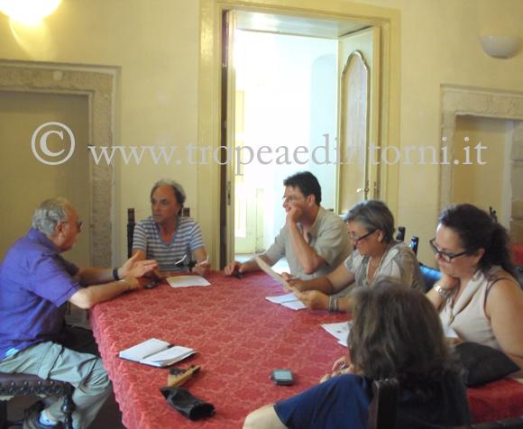 Tavolo della riunione IAT - foto Sorbilli