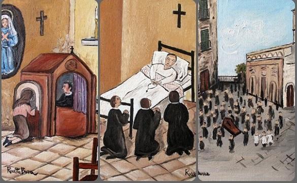 La morte del P. Di Netta è avvenuta il 3 dicembre 1849 alle ore 9,30. I solenni funerali si tennero il giorno 5 dicembre.