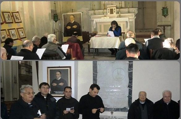 L'incontro con i sacerdoti su P. Di Netta, apostolo della Misericordia di Dio, è stato vissuto intensamente.