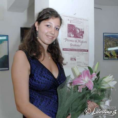 """Domenica Mollo la vincitrice della IX edizione del premio """"Al miglior studente"""""""